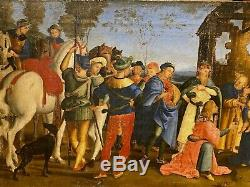 16th Century Italian Renaissance Old Master Adoration Of The Magi RAPHAEL