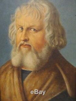16th Century Old Master Portrait Hieronymus Holzschuher by Albrecht Durer