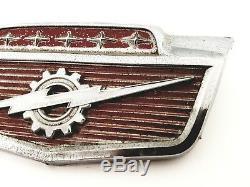 1961-1966 Ford F-100 F-250 F-350 Front Hood Emblem Badge Symbol Logo Oem (1965)