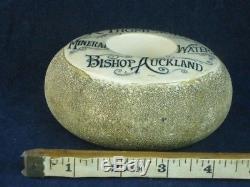 34634 Old Antique Matchstriker Match striker Sign bottle thompson bish auckland