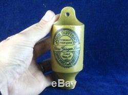 39684 Old Antique Printed Ginger Beer Bottle Advert Sign Matchstriker Manchester