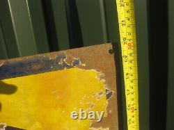 45995 Old Vintage Antique Enamel Sign Shop Advert Sunlight Soap Packet Box Label
