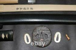 (AK-63) Famous Name SEKI TOMONARI NAGAHIRO sign KODEN(Old way training)of KATANA