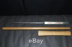 (AK-8) Old Blade YARI KUNISUKE sign MUROACHI terminal period