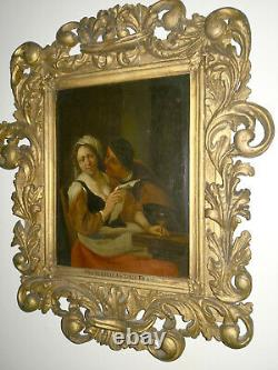 ANTIQUE OLD MASTER OIL PAINTING BY Francesco Antonio Krause C1690-1720 signed