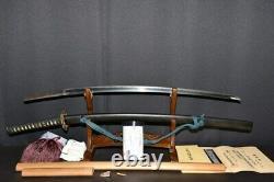 (AN-76) Old High Lank Blade NORIMITU sign MUROMACHI with NBTHK Judgment paper