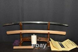 (AR-78) Very Old Blade FUJI SHIMA TOMOSHIGE sign MUROMACHI with NBTHK Judgment