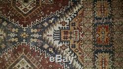 Alter Orientteppich signiert 184112 Seide Old Oriental Rug signed