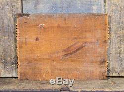 Antique A. OLD OVERHOLT Rye Whiskey Sign RARE PROHIBITION Signage BRAD FORD PA
