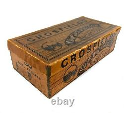 Antique Advertising Crossfields Old Brown Windsor Soap Shop Display Box Sign