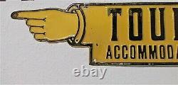 Antique Sign Vintage Pointing Finger Road Old Road Side Tourist Hotel Motel
