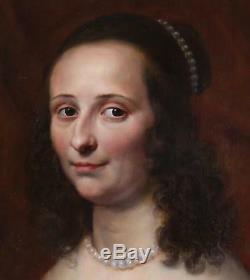 Circle Gerrit van Honthorst (1592-1656) Antique Old Master Oil Painting Portrait