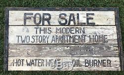 Early Antique Orig 1930s Wood Sign Best Old Paint AAFA 47x36 For Sale