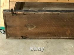 Early ORIGINAL Vintage WOOD Sign HILL BROS. Coffee OLD Wall Decor AnTiQue WoW