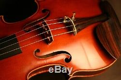Fine Old Antique French Master Violin Made & Signed By Emile Mennesson, 1886