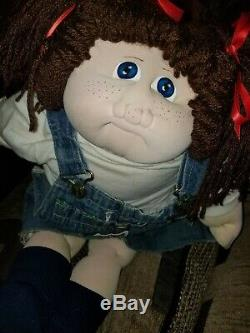 HAND SIGNED 79Cabbage Patch Kids/Little PeopleSOFT SCULPTUREOld Vintage Doll