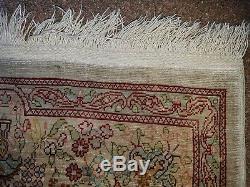 Hereke Seidenteppich Teppich ca. 11070 cm old Hereke Silk Rug tappeto signed