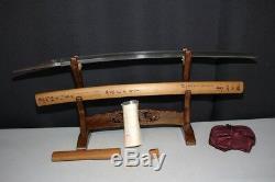 (ID-97) Old Blade KANEHANA sign TENSHYOU MUROMACHI KANZAN SAYA sign