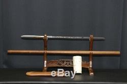 (IN-9) Very Old YARI MASAMITU sign EITOKU (638years old) YAMASHIRO Blade