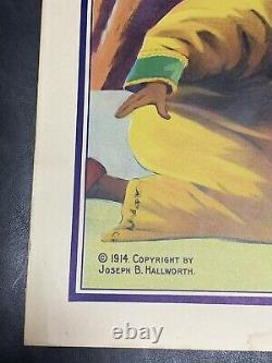 Kar-mi Poster Vintage & Original Promotional Old Antique Sign Magician Swami Art