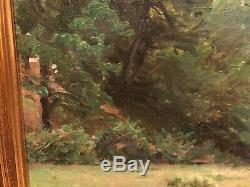 OIL PAINTING FINE GEORG SELIGMANN ANTIQUE 19 / 20th CENTURY Danish OLD MASTER