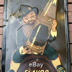 Old Antique Vintage Drink Vernors Ginger Ale 1950 Sign Error Rare 1 Of A Kind