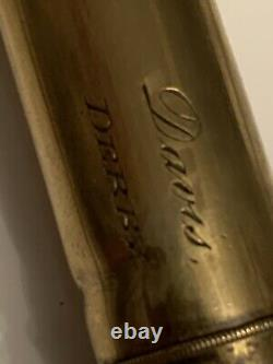 Old Barn Find Rare Antique draw mariners pocket telescope signed DAVIS Derby