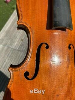 Old French Violin'' CHENANTAIS & LE LYONNAIS'' signed 1927 excellent condition