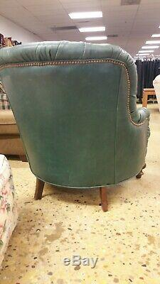 Old Hickory Tannery Leather Chair Liberty Creek Collection