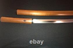 Old Japanese Samurai Sword -Katana -Antique Collection -O-Kissaki! -Signed/Dated