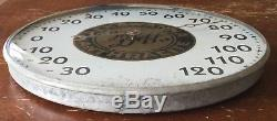 Old Vtg Antique Lackawanna Anthracite D&h Railroad Advertising Thermometer Sign