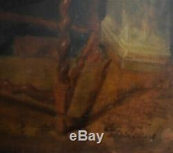 Old master painting. Oil painting. Antique painting. Paintings. Dutch old master. Art