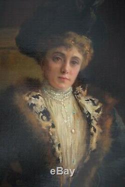 Painting. Antique painting. Old painting. John Lavery. Oil on canvas. Irish art. Art