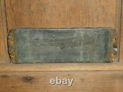 Rare Classic Old Original Deliver Goods Reverse Glass Store Sign Vintage Antique