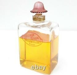 Rare Old Vintage Antique Jasmin Floral Houbigant Unused Perfume Bottle France
