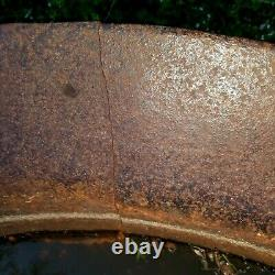 SYRUP KETTLE Cast IRON Antique Old Authentic 1800's GEORGIA 80 Gallons