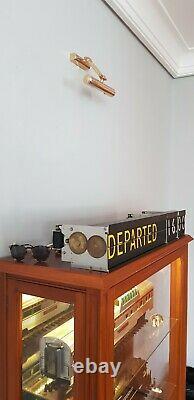 Solari Di Udine, Split Flap Units, Old sign Airport, Train Station
