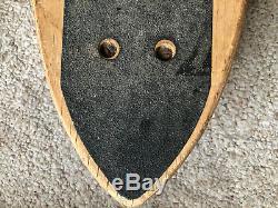 VTG 70s FREE FORMER Skateboard, knee pads, jersey, helmet, signed Ty Page