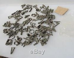 Vintage Brass Letters Salvage Antique Number Hardware Sign Job Lot Old x121